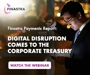 Watch the webinar - Finastra payments report: Digital disruption comes to the corporate treasury