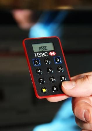 HSBC to issue credit card sized Internet banking keycode device