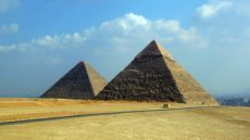 Pyramids in Egypt