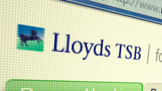 Lloyds web screen shot logo