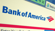 Bank of America Logo web screen shot