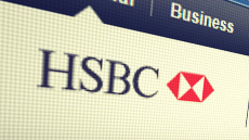 HSBC logo web screen shot