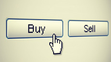 Online Buy and sell button