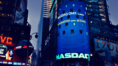 Nasdaq time square New york 1