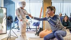 ING Robot goes on tour to teach kids about money