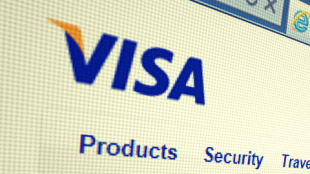 Visa web screenshot