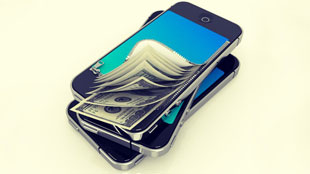 Mobile phone turning to cash
