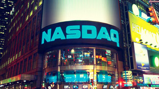 Nasdaq time square New york