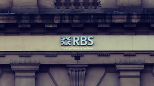RBS Bank branch sign