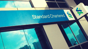 Standard Chartered branch sign 2