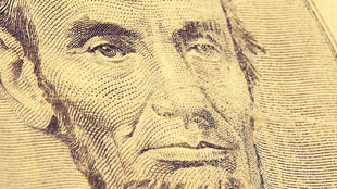 Abraham lincoln US note