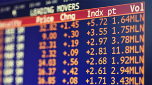 Stock exchange numbers