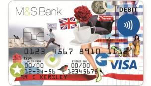 M&S debit card