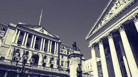 Bank of England officials watch as cyber attack unfolds
