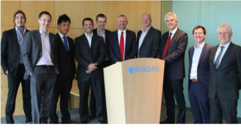 University incubator companies pitch to Barclays