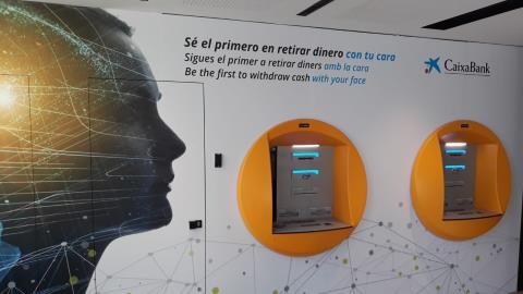 CaixaBank to roll out facial recognition ATMs across Spain