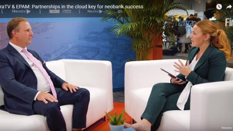 Partnerships in the cloud key for neobank success