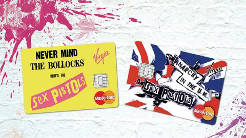 Anarchy in banking; Virgin launches Pistols credit card