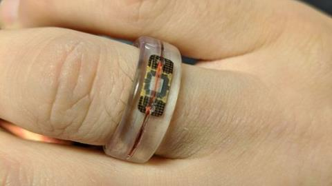 Man dissolves credit card to make contactless ring