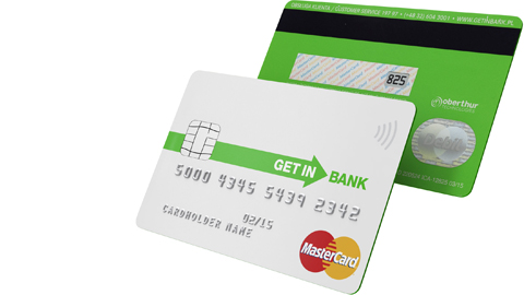 Getin Bank introduces world's first DCVC card