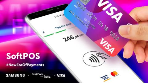 Visa, Samsung and First Data team on dongle-less mPOS payments