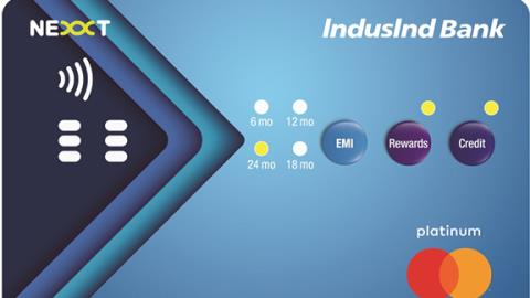 IndusIndbank introduces push button credit card