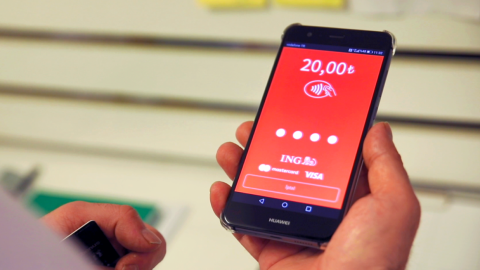 ING tests software that turns mobile phones into POS terminals