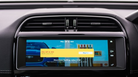 Jaguar embeds payments into digital dashboard
