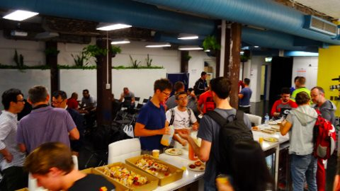Endless pizzas and free gadgets keep Masters of Code challengers hacking