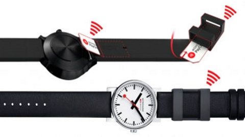 Mondaine adds contactless payments to new smart watch