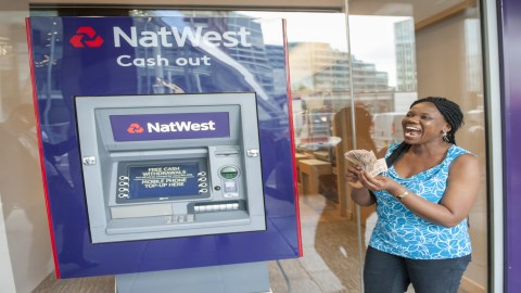 NatWest celeberates 50th anniversary of its first ATM with