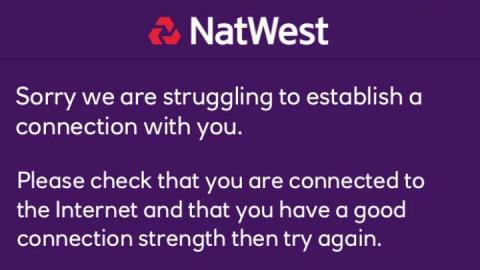 NatWest and RBS down, infuriating Black Friday online shoppers