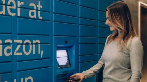 CBA puts Amazon lockers in branches