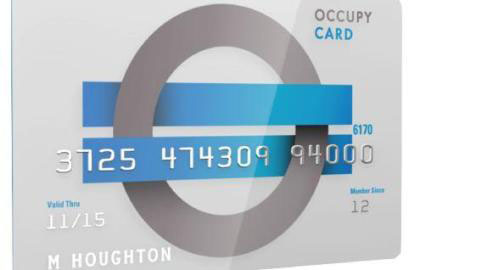 Occupy Wall Street group preps debit card