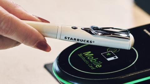 Starbucks Japan launches NFC-enabled pen