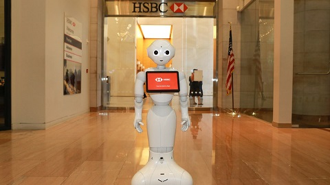 HSBC hires Pepper the robot