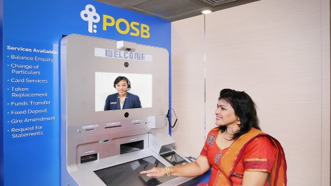 POSB branch banking goes round-the-clock with new Video Teller Machine