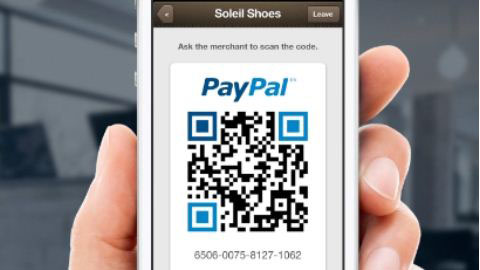 PayPal turns to QR codes for latest assault on in-store payments