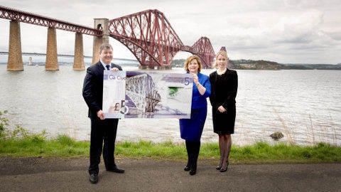 Clydesdale Bank issues Britain's first plastic banknotes