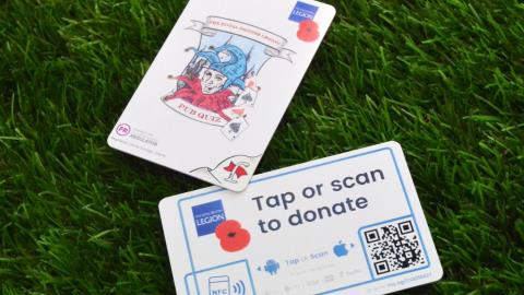 The Royal British Legion brings contactless donations to fundraising pub quizzes