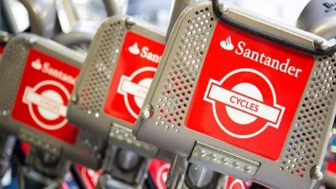 Santander rolls out payments app for London bikes