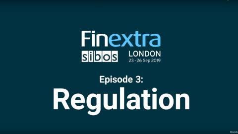 FinextraTV @ Sibos2019 – The Big Themes #3: Regulation