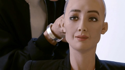 Sophia the humanoid gets UBS conference speaking gig