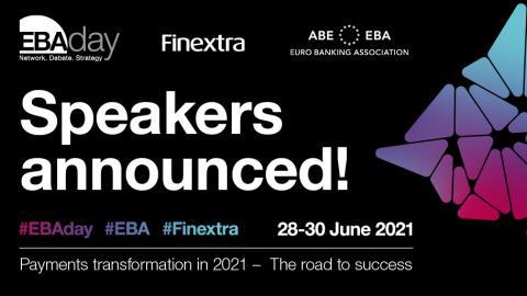 EBAday 2021: new speakers announced