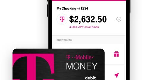 T-Mobile takes on US banks with checking account