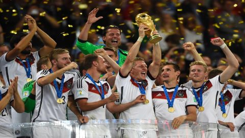 UBS ranks Germany as most likely World Cup winners
