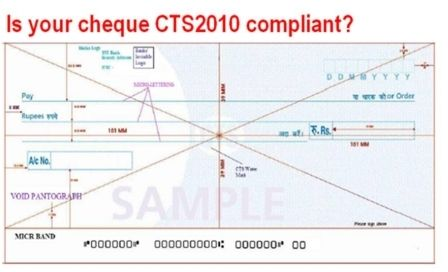 CTS-2010 Compliant Cheque