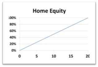 Home Equity Evolution on a 20 Years Mortgage