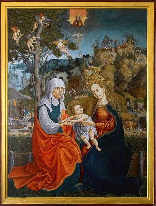 German Gothic Painting from Central Slovakia - Year 1513