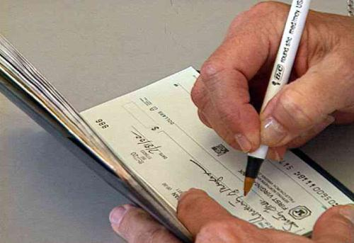 Two thirds of checks written globally originate in the US